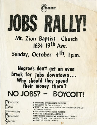 Seattle in Black and White: The Congress of Racial Equality